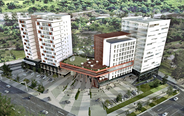 area comercial el bosque central