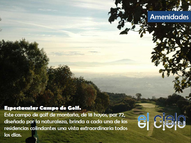 Campo de Golf - 2 - El Cielo country club