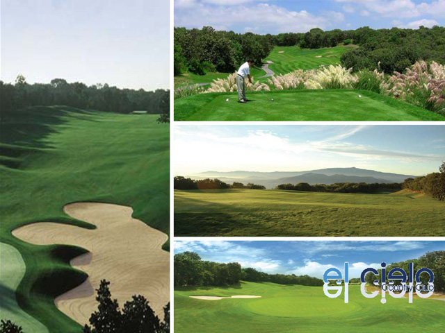 Campo de Golf - El Cielo country club